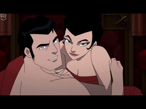 Bruce Wayne & Selina Kyle make love | Batman: Gotham by Gaslight