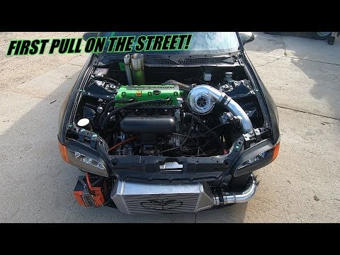The Grinch Makes Some Boost On The Street! (K Series AWD Civic)