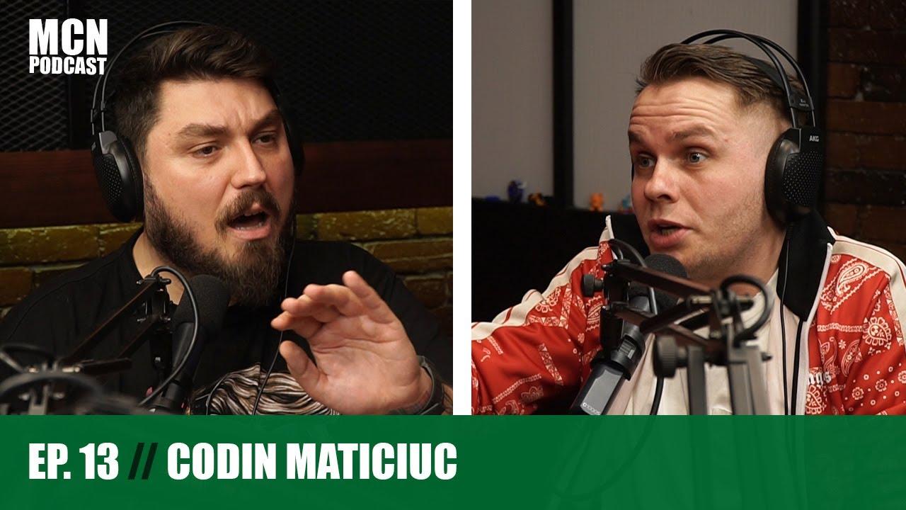"""M.C.N. Podcast 13   Codin Maticiuc: """"Dreptul de a face copii și de a vota trebuie câștigat"""""""