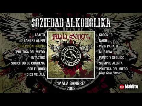"SOZIEDAD ALKOHOLIKA ""Mala Sangre"" (Álbum Completo)"