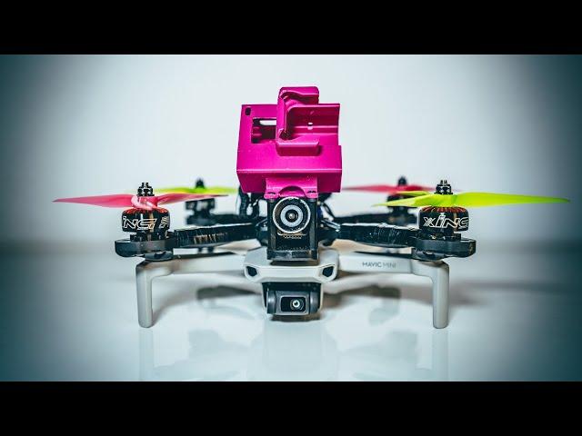 DJI Mavic Mini + FPV Drone = Unexpectedly Good!