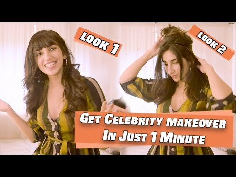 Parul Gulati's One Minute Hack To Get A Celebrity Hairstyle | Hair Extensions thumbnail