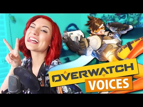 Thumbnail: OVERWATCH VOICE IMPRESSIONS