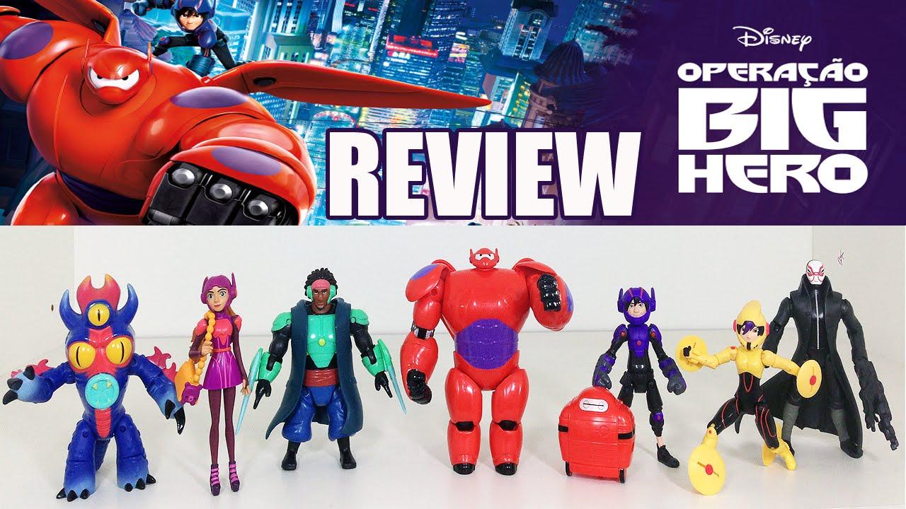 Operacao Big Hero Review Dos Bonecos Youtube