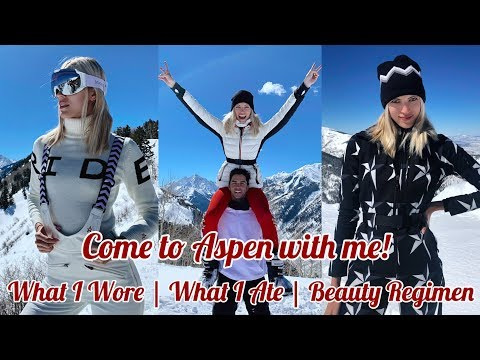 Come to Aspen with me! | What I Wore | What I Ate | Beauty Regimen | Devon Windsor