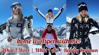 Gambar cover Come to Aspen with me!   What I Wore   What I Ate   Beauty Regimen   Devon Windsor