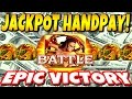 ★★MASSIVE 1000x JACKPOT HANDPAY★★ BATTLING SLOT MACHINE DRAGONS in The Third Prince