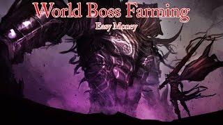 Black Desert World Boss Farming for easy money and more!