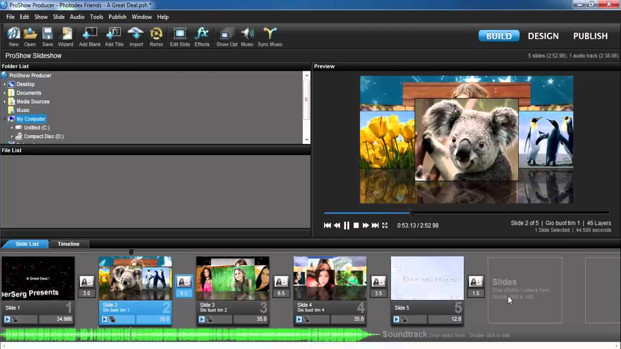 How to open and edit templates in proshow producer youtube how to open and edit templates in proshow producer pronofoot35fo Choice Image