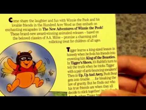 New adventures of Winnie the Pooh king of the beasties VHS Unboxing