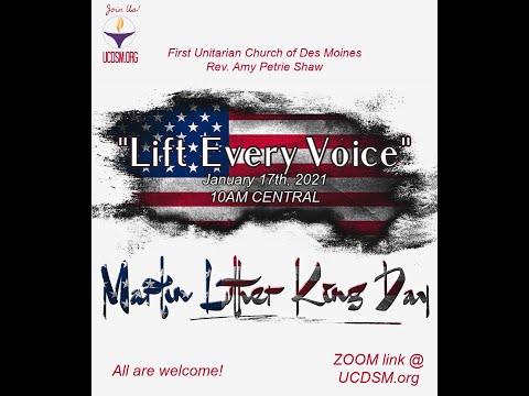 UCDSM Service Jan 17 2021 Lift Every Voice