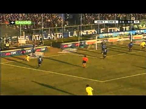 Serie A 2001-2002, day 17 Atalanta - Chievo 1-2 (Berretta, Marazzina, F.Cossato)