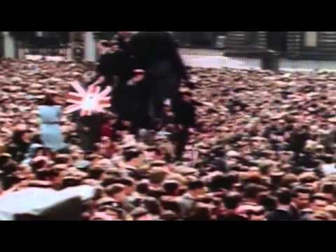 WWII in HD  VE Day