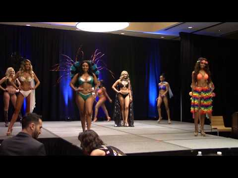Miss Globe United States 2017 - Preliminary Program - Swimwear Part 1