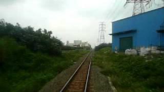 【台鐵】DR1000形桃林鉄路前面展望 折返し点~海湖駅