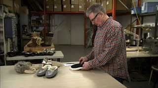 Watch These Craftspeople Create Cozy Fur-Lined Moccasins | How It's Made