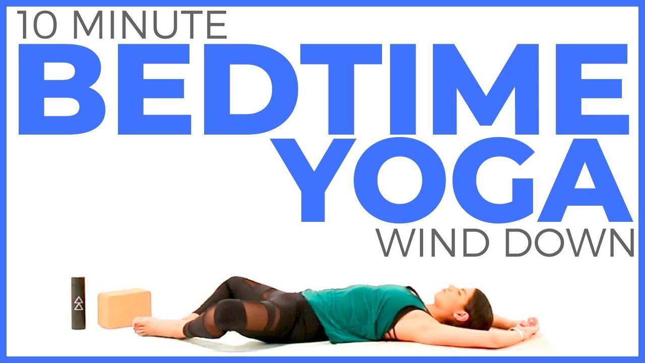 Bedtime Yoga Stretch | Relaxing Yoga for Bedtime Routine (10 minutes)