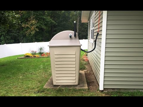 Home Heating Oil Tank Installations - Before and After - YouTube