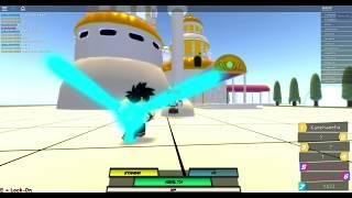 Roblox Dragon Ball z jogar com (Gohan) El super Gamer