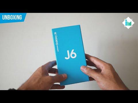 Samsung Galaxy J6 | Unboxing en español