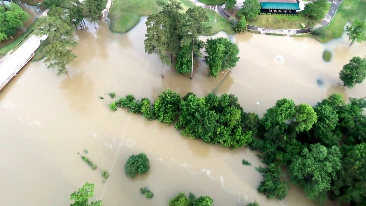 Willow Creek Golf Course Flooding On 4 18 2016 Youtube