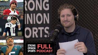 Brady's Struggles, Kirk Cousins, Giants Coach, Drew Lock, Josh Rosen's Problem & Chris Petersen