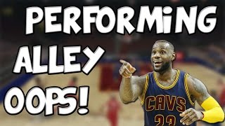 NBA 2K16 | How To Perform Alley-Oops!