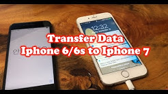 How to Transfer Data from iPhone 6s to iPhone 7