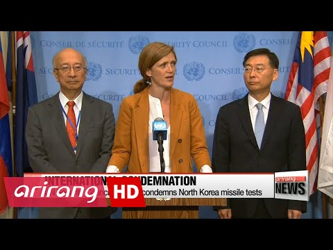 UN Security Council strongly condemns North Korea missile tests