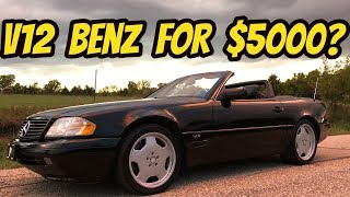 My Cheap V12 Mercedes SL600 Cost Way Less to Fix Than I Thought