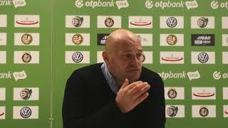 Feczkó Tamás értékelte a Kisvárda - MTK-Budapest mérkőzést