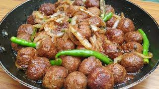 Soft & Juicy Kofte Kabab Recipe | Eid ul Adha Special Recipe | Easy Kofta Kabab Meatball Recipe screenshot 2
