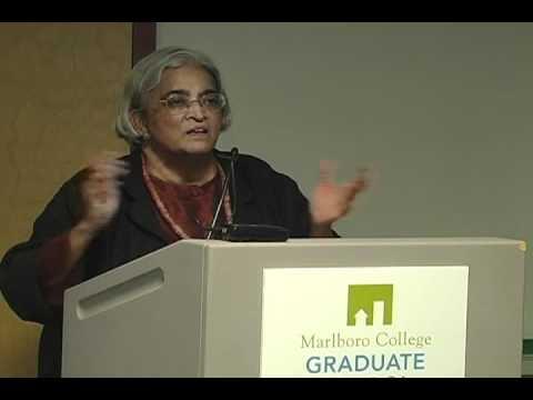 Janaki Natarajan Discusses Sustainability & Culture. Marlboro Graduate School, Vermont