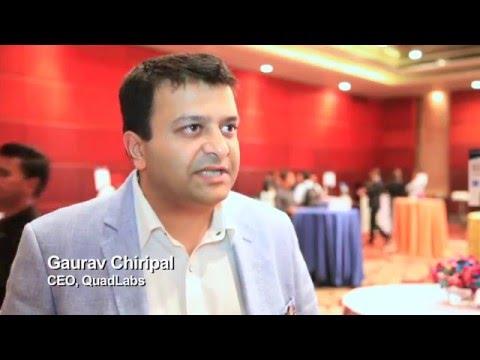 Gaurav Chiripal, CEO, QuadLabs - Winner - The Travel Innovation Summit, India 2016