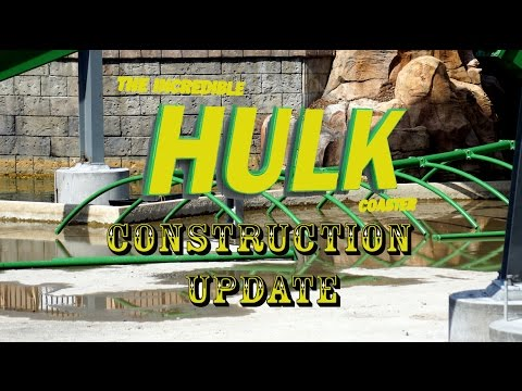 Universal Orlando Construction Update 4.25.16 Kong Evac, Hulk, Fallon & More!