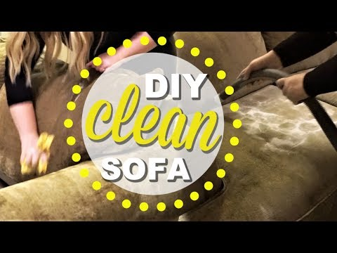 HOW TO CLEAN AND DEODORIZE YOUR SOFA | TIPS TO MAKE YOUR COUCH SMELL BETTER | FURNITURE DEEP CLEAN