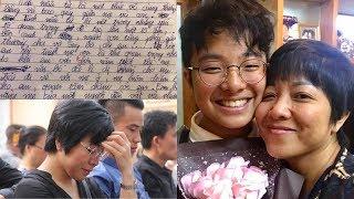 MC Thảo Vân ứa nước mắt trước câu nói của con trai về cuộc ly hôn với bố Công Lý