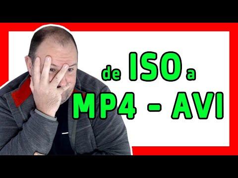 Como CONVERTIR un Archivo ISO a MP4 o AVI || o Como RIPEAR o COPIAR un DVD original - 2021