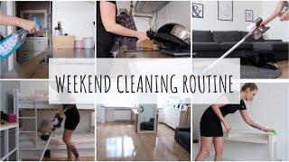 Weekend cleaning Routine  Meine Putzroutine   4,5 Kilometer durch die Wohnung