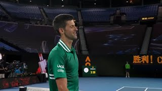 Najzanimljiviji delovi Novakovog pohoda na polufinale