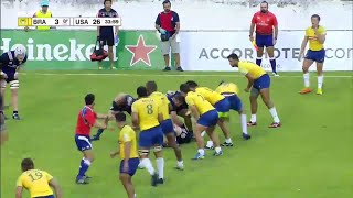 Brazil's insane team try - Americas Rugby Championship