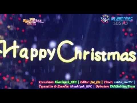 [Vietsub YANST] Oh Holy Night (SBS 03.12.26) - TVXQ & BoA [Winter Gift 2009]
