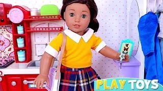 Лялька Холодильник Іграшки Грати Американська Дівчина Лялька!