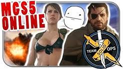 ERSTE RUNDE METAL GEAR ONLINE | Metal Gear Solid 5 Multiplayer Lets Play | MGS5 Deutsch German