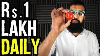 WARNING: Make 1 Lakh Rupees Per Day by Planting Tomato Seeds | ایک لاکھ ہر دن | Azad Chaiwala Show