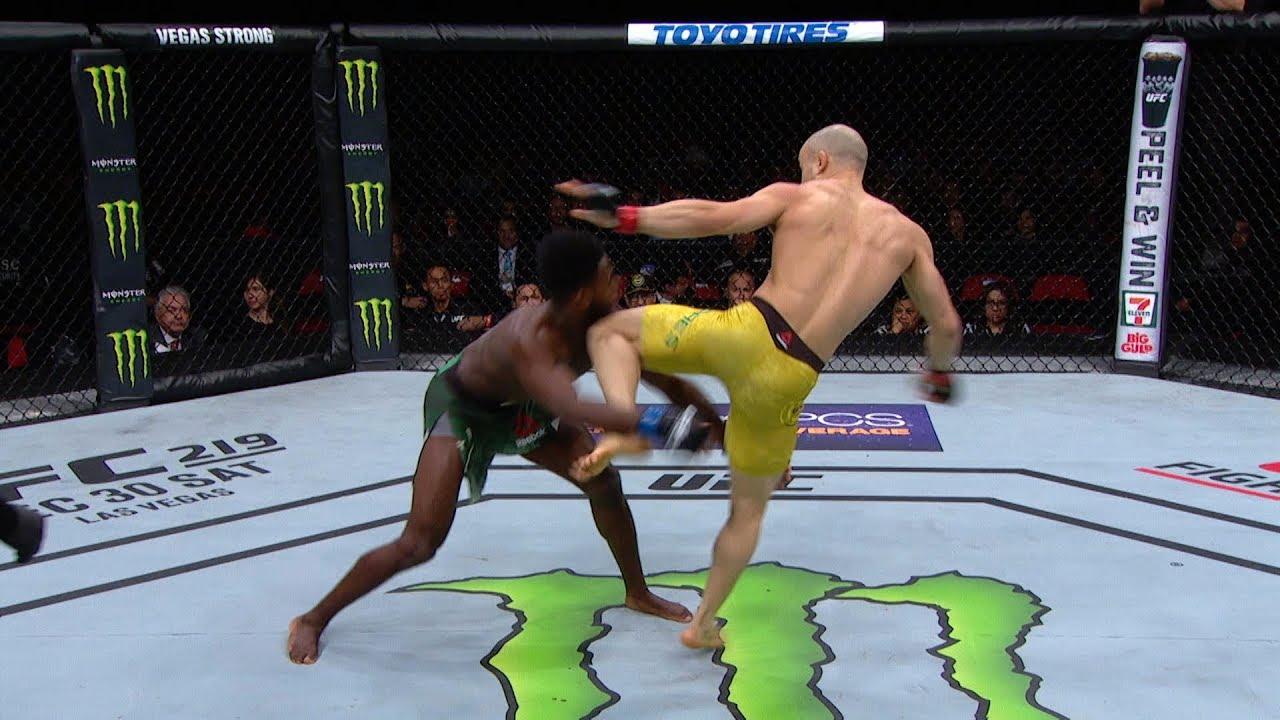 ТОП-5 нокаутов от участников UFC on ESPN+ 2