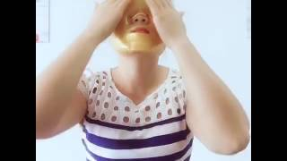 Gold Facial Mask (How to apply) | Hair4Real Hair Building Fiber Official Page