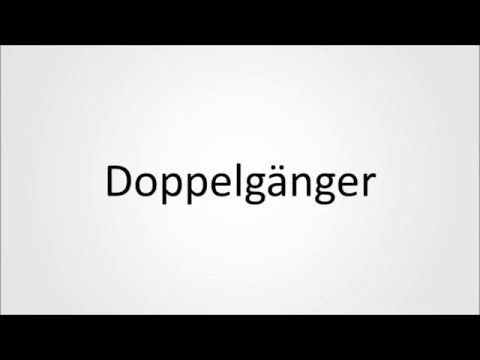 Hwo to pronouce Doppelgänger in German