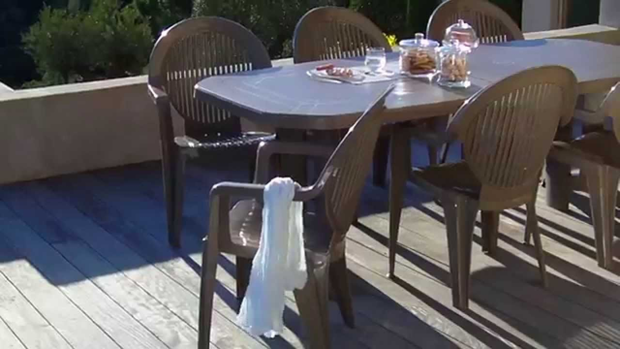 Oogarden salon de jardin v ga youtube - Table jardin grofilex besancon ...
