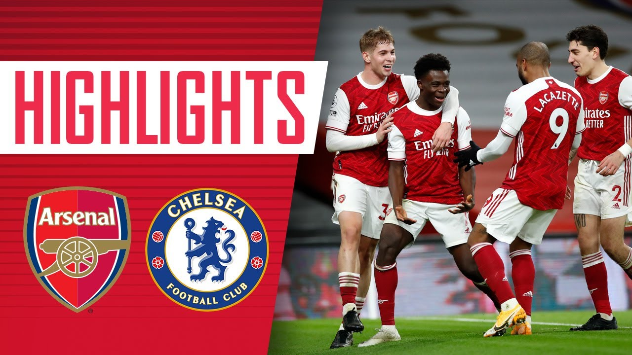 Arsenal vs Chelsea 3–1 Highlights